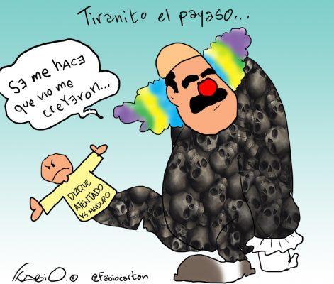 Este es el cartón de Fabio que publica La Prensa