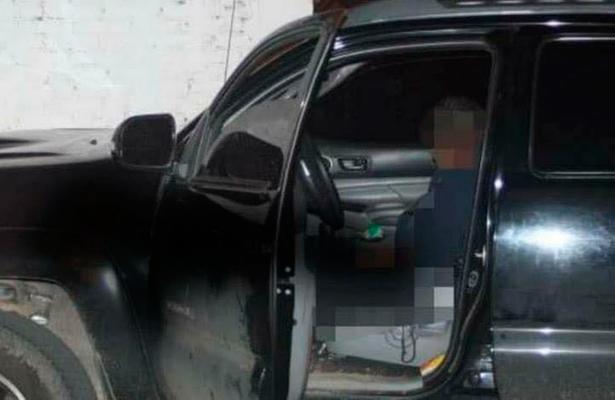 A tiros a bordo de lujosa camioneta en Uruapan