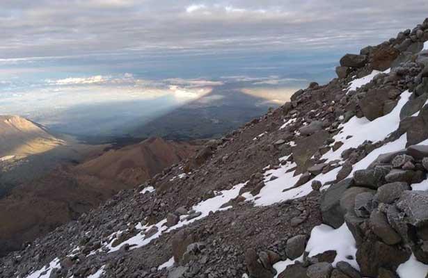 Alpinista austriaco se pierde en el Pico de Orizaba
