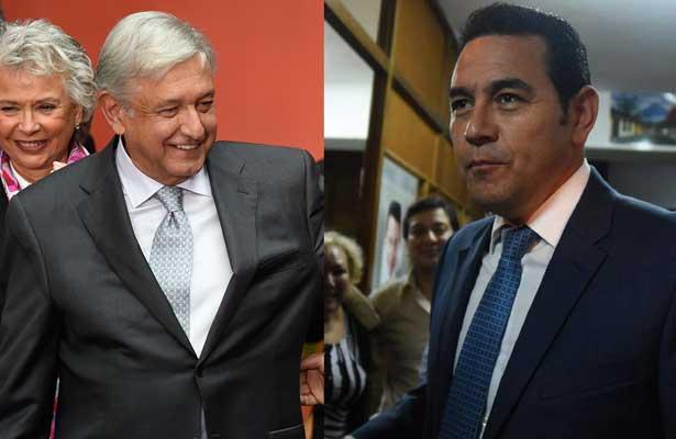 Confirma Ebrard reunión entre AMLO y presidente de Guatemala