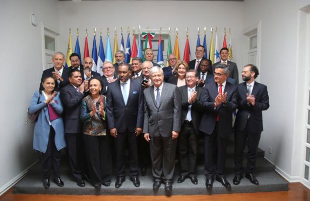 AMLO ofrece unidad y cooperación a países de América Latina