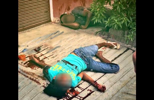 Desconocidos atacan a balazos a familia, en Oaxaca