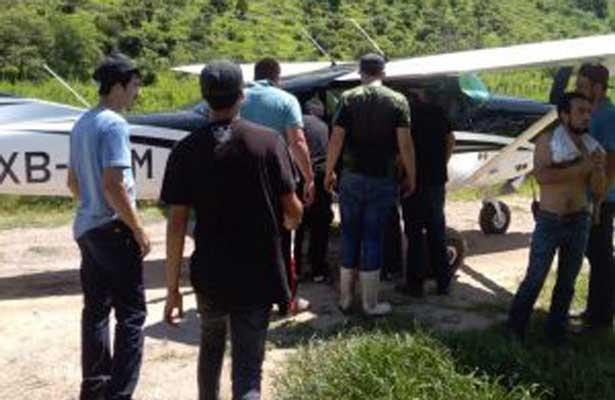 Se desploma avioneta en Durango