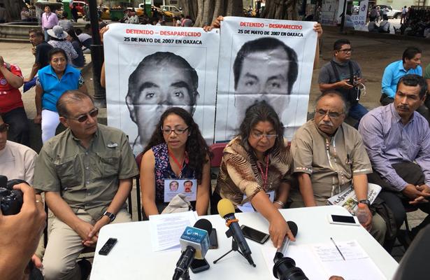 Familiares de desaparecidos exigen avances en su búsqueda