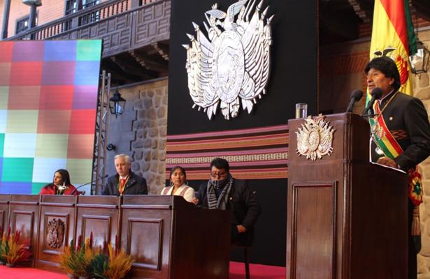 Roban la histórica medalla presidencial de Bolivia
