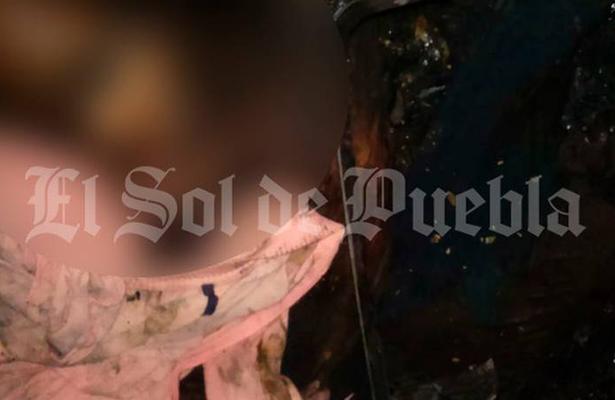 Muere calcinado mientras dormía en su casa, en Totimehuacan