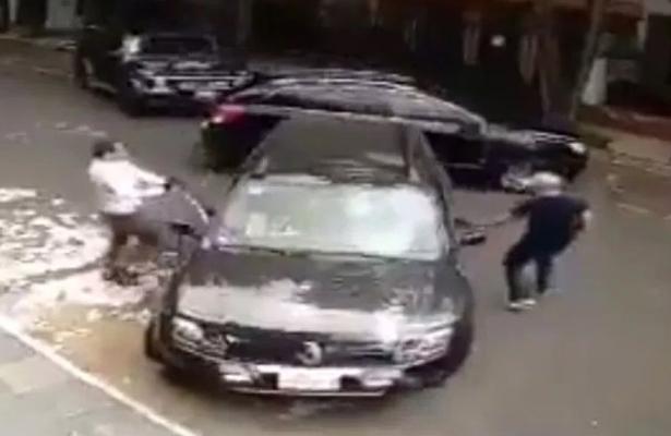 Automovilista frustra asalto en la Condesa (VIDEO)
