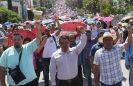 Maestros de la CNTE amenazan con quitar apoyos de programas sociales