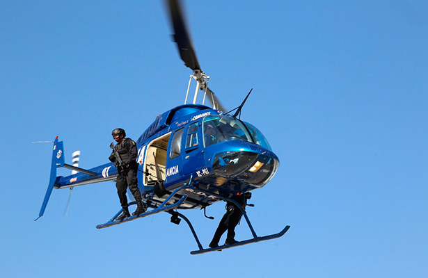 Desde el aire el equipo Cóndor se suma a la lucha contra el crimen