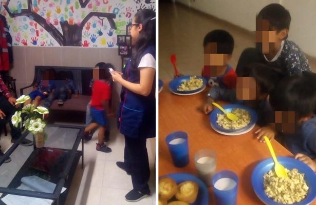 Cuatro niños fueron rescatados por DIF CDMX