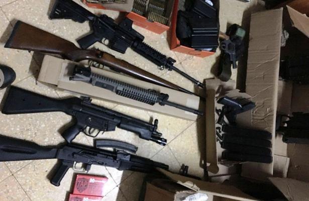 Decomisan armas en Reynosa