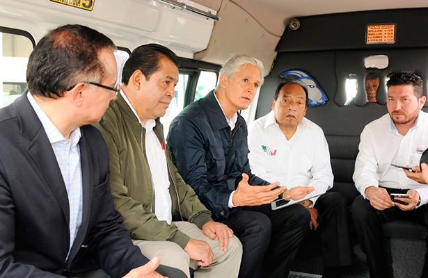 Pone en Marcha Alfredo Del Mazo sistema de videovigilancia en transporte público mexiquense