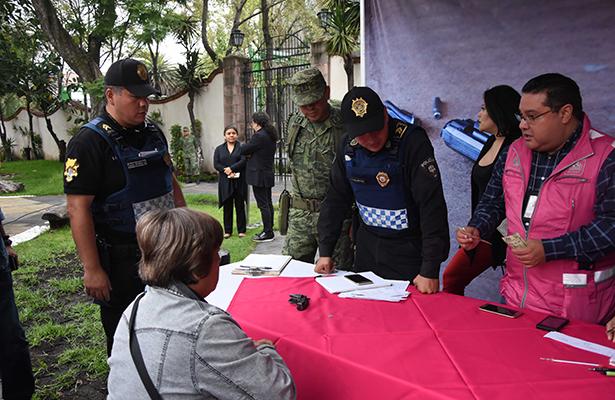 "Llega ""por tu familia, desarme voluntario"" a Benito Juárez"