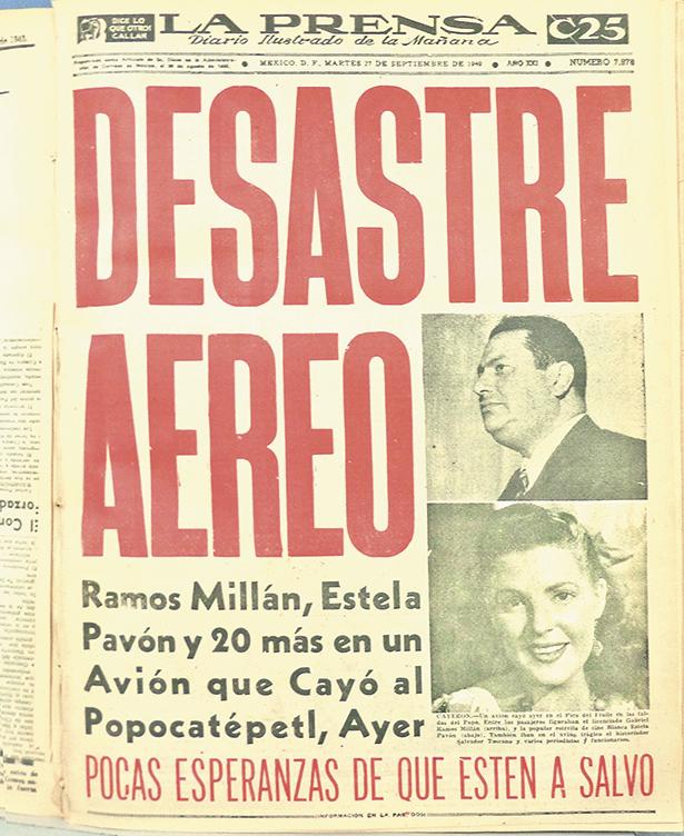 Desastre-aéreo portada La Prensa 90