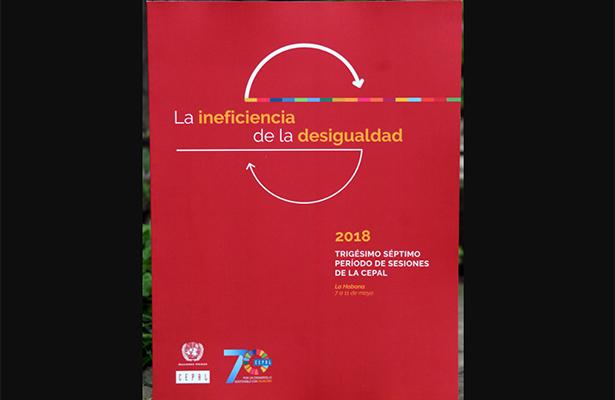 """Presentan en la UNAM el informe """"La ineficiencia de la Desigualdad"""""""