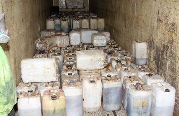 Destruye PGR 19 toneladas, así como 37 mil litros, de sustancias químicas y narcóticos