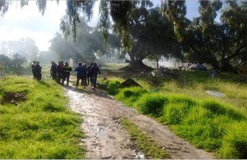 Explota polvorín en Zumpango, una persona falleció