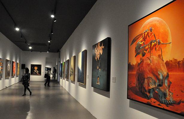 Presentan la exposición Luna y Sol, Dualidad en San Ildefonso