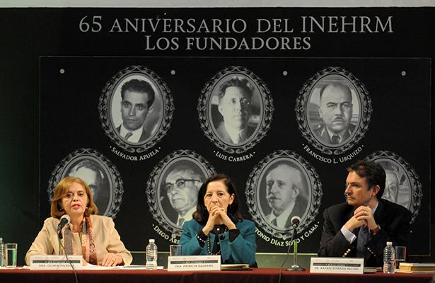 INEHRM conmemora el 65 aniversario de su fundación