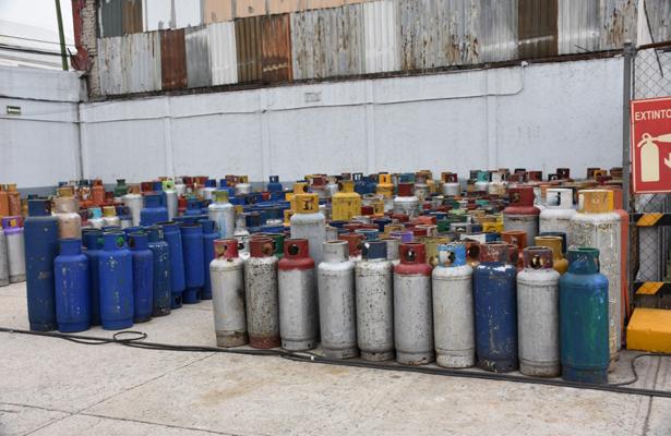 Cilindros de gas en mal estado son bombas de tiempo en la CDMX