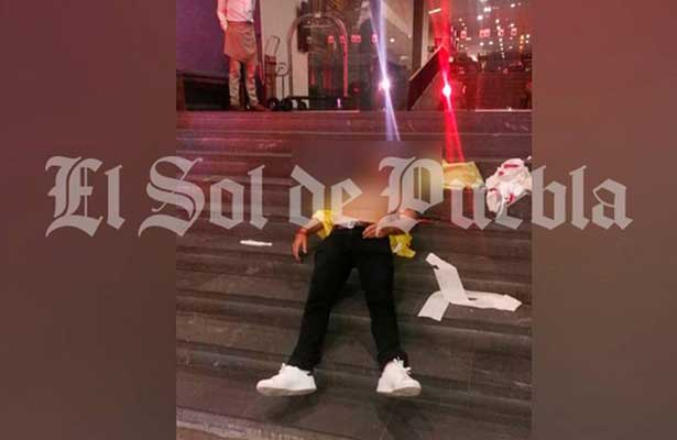 El joven asesinado en el hotel Camino Real era sobrino de un mando federal ultimado en Veracruz