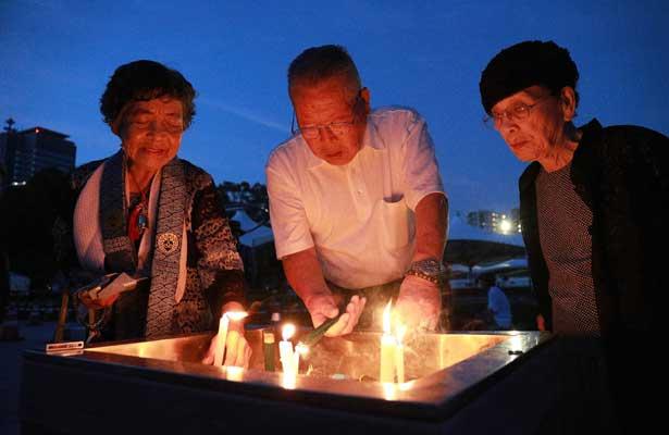 Recuerda Hiroshima ataque nuclear de hace 73 años