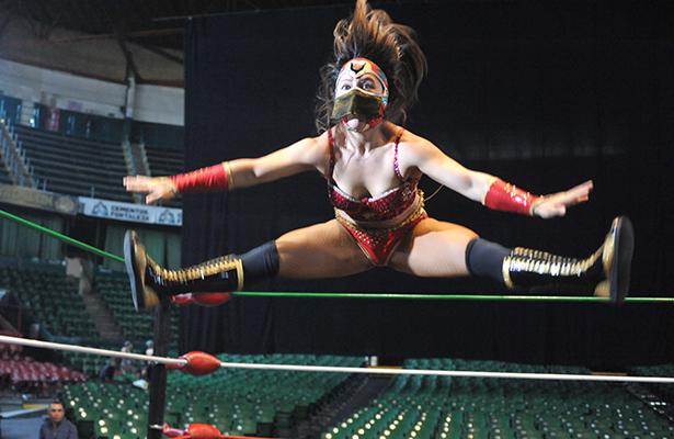 En Japón es considerada una reina de la lucha libre