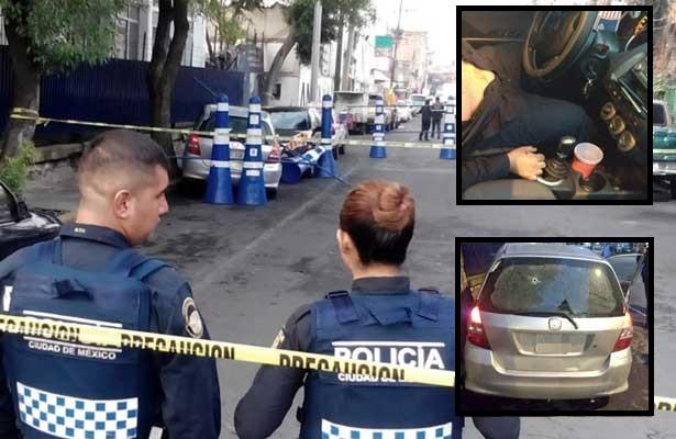 Asesinado en calles de Iztacalco