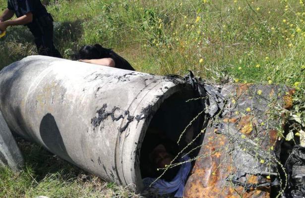 Hallan dentro de un tubo de concreto el cuerpo de su madre