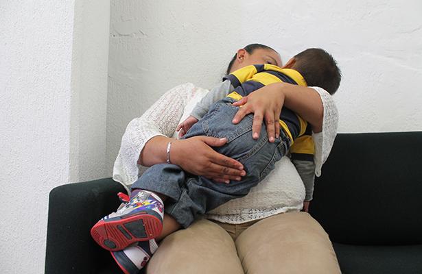 Desde prisión trata de cuidar a su hijo