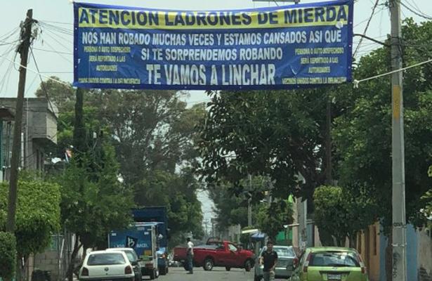 Amenazan con linchar a los ladrones en Ecatepec