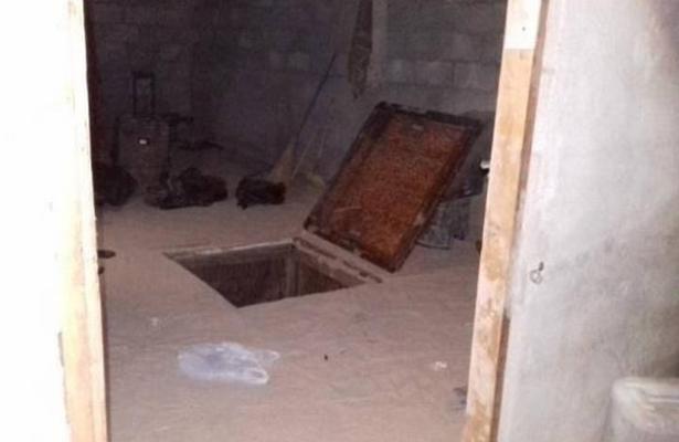 """Localizan """"narcotúnel"""" en Mexicali, tras denuncia ciudadana"""