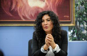 Mónica López Moncada, delegada en Venustiano Carranza