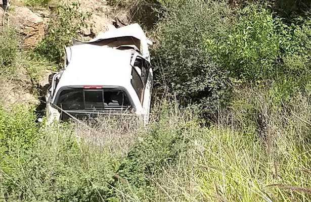 Alcalde de Villanueva, Zacatecas pierde la vida en aparatoso accidente