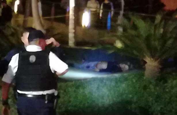 Balacera en centro comercial de Guadalajara deja un muerto