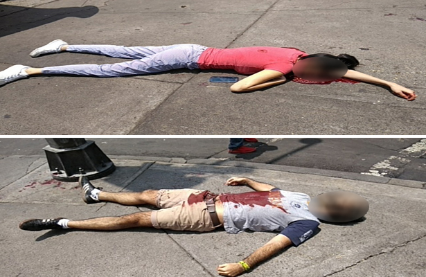 Matan a pareja en la Benito Juárez; fue el novio [VIDEO]