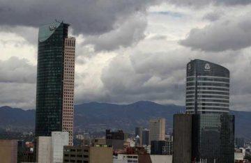 Prevén domingo parcialmente nublado en la CDMX