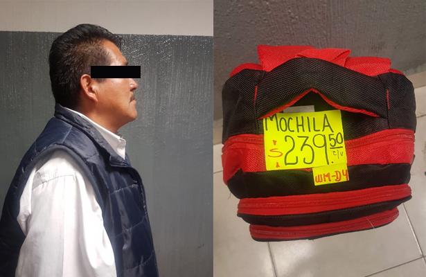 La necesidad le hizo robar mochila para regreso a clases de su hijo