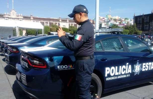 Se suman más de 350 patrullas y motopatrullas al combate a la delincuencia