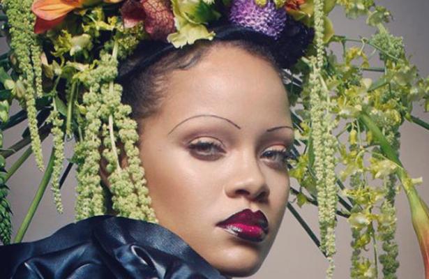 ¿Y las cejas de Rihanna?