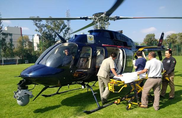 Vuelan en helicóptero un riñón y un corazón para trasplante