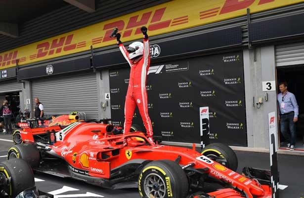 Vettel se lleva el Gran Premio de Bélgica