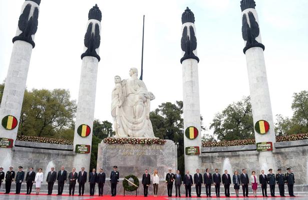 Lucen espadines por los 171 años de la gesta heroica de Chapultepec