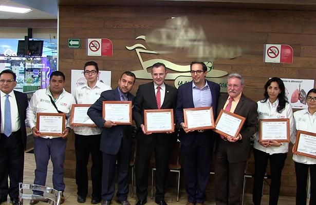Certifica Sedesa 28 establecimientos CDMX como espacios 100% libres de humo de tabaco