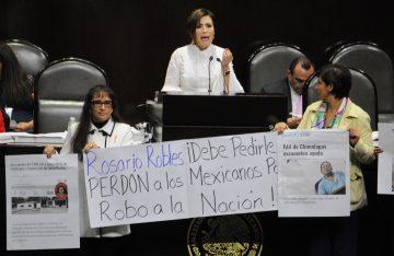 Contra Rosario Robles no hay investigación abierta