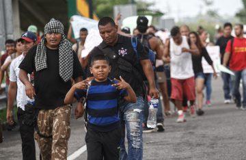 México solicitó intervención de la ONU para atender caravana migrante