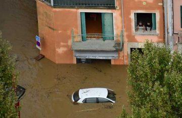 Inundaciones en Francia han provocado al menos 12 muertos