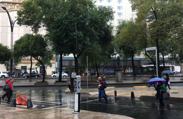 Posibles lluvias ligeras este domingo en la Ciudad de México