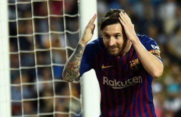Hace 14 años Messi debutó en el Barcelona