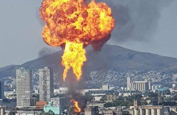 [VIDEOS] Se incendia fábrica en la alcaldía de Cuauhtémoc